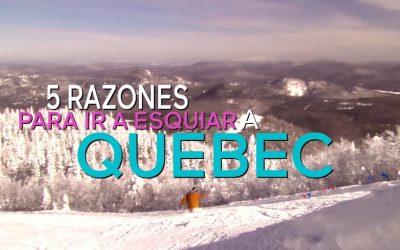 Esquiando en Quebec: todo lo que tienes que saber